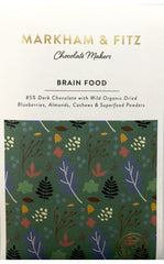 Markham & Fitz Brain Food Dark Chocolate 85%