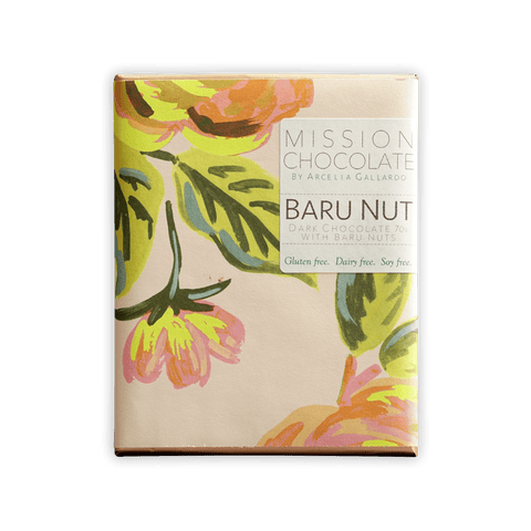 Mission Chocolate Baru Nut 72%