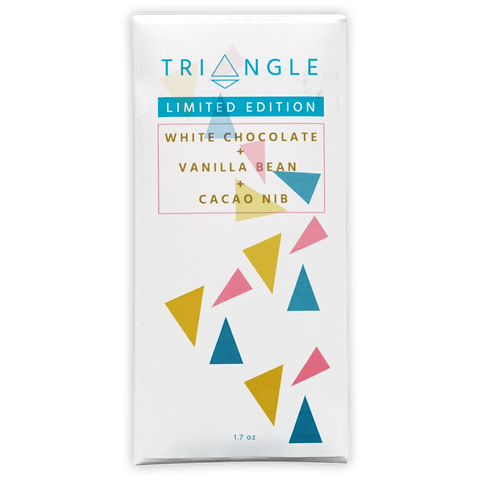 Triangle Roasters White Chocolate w/ Nibs & Vanilla