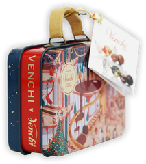 Venchi Winter Suitcase Tin (Seasonal)