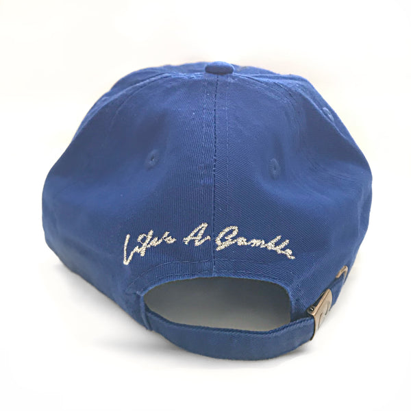 "Sixfigures Clothing: 456 ""Life's a Gamble"" dad hat"