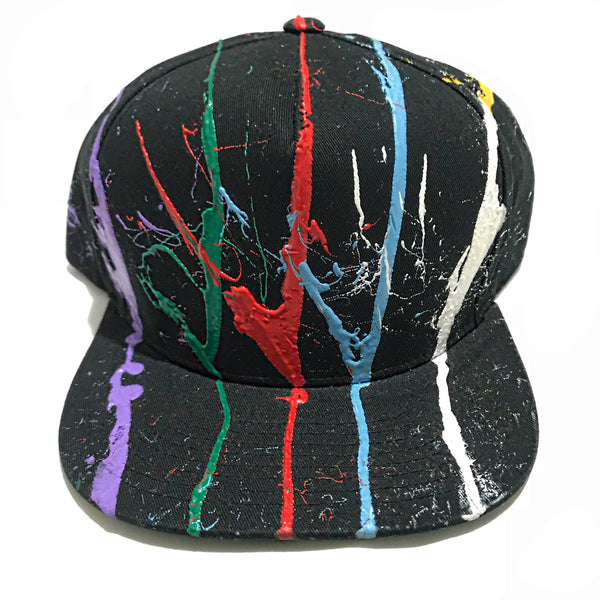 "Sixfigures Clothing ""splash"" SnapBack"