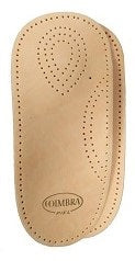 Coimbra 3/4 Leather arch support, Tan