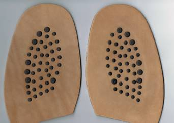 JR Piroli Combination half soles
