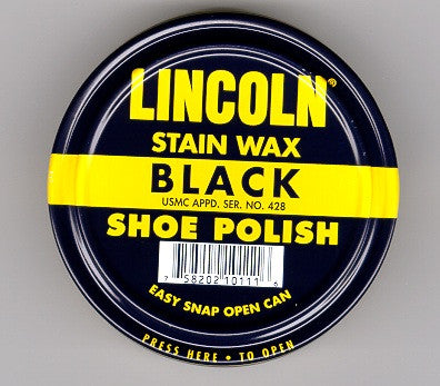 Lincoln stain was shoe polish, 2.5 ounce