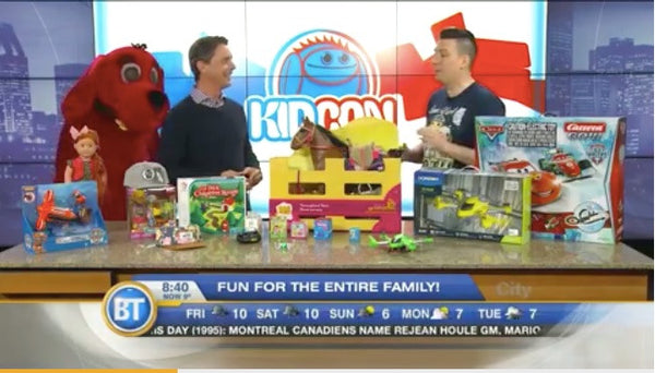 Headster Kids on Breakfast TV !!!