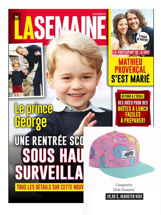 LA SEMAINE Magazine - September 2017