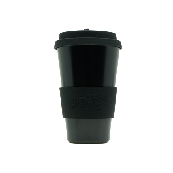 Bamboo Reusable Cup - Black