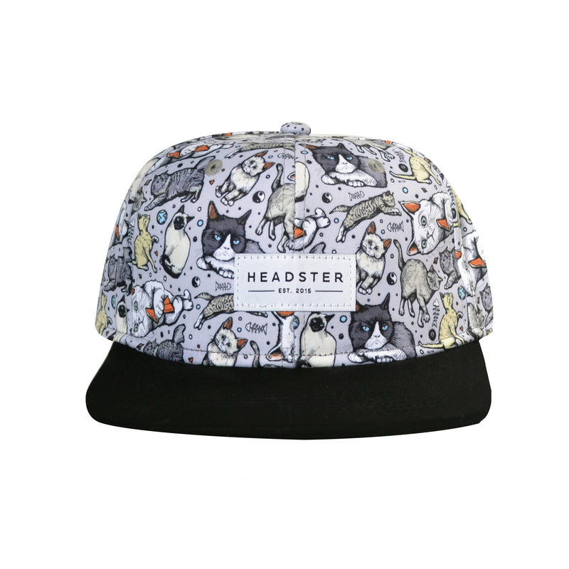 grey-cats-meow-mix-hat-kids-babies-front