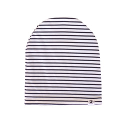 Striped Black Beanie - HEADSTER KIDS