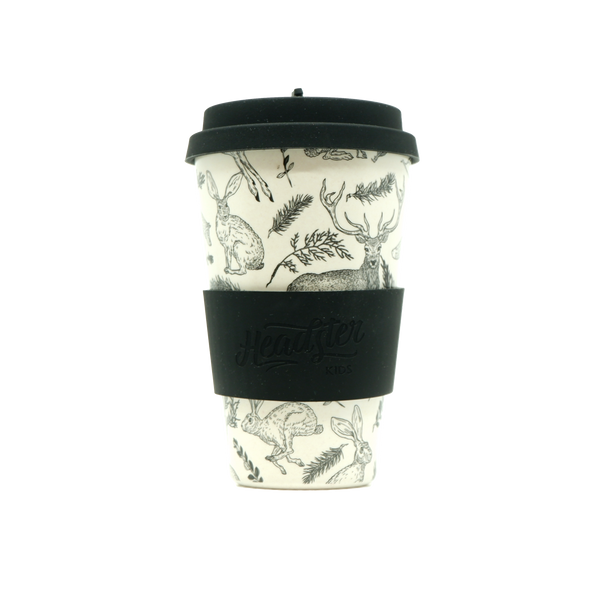 Bamboo Reusable Cup - Woodland
