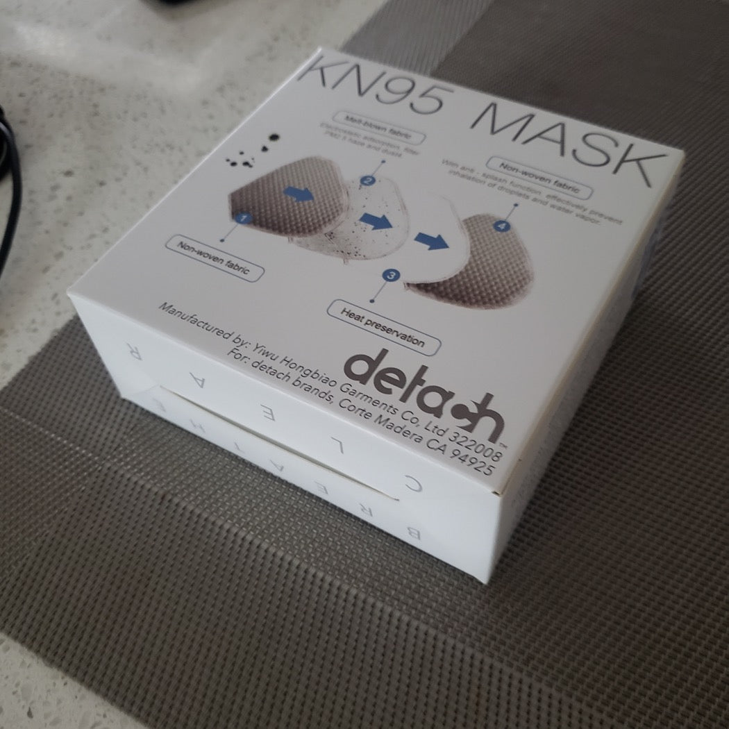 ECO MASK - KN95 Nano Filtration Face Mask Box