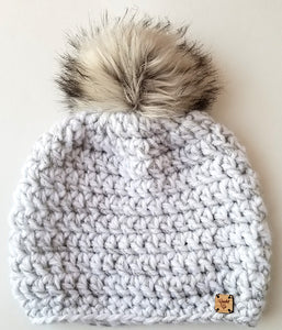 *BLACK FRIDAY WEEKEND EXCLUSIVE* Ice Castle Faux Fur Pom Hat