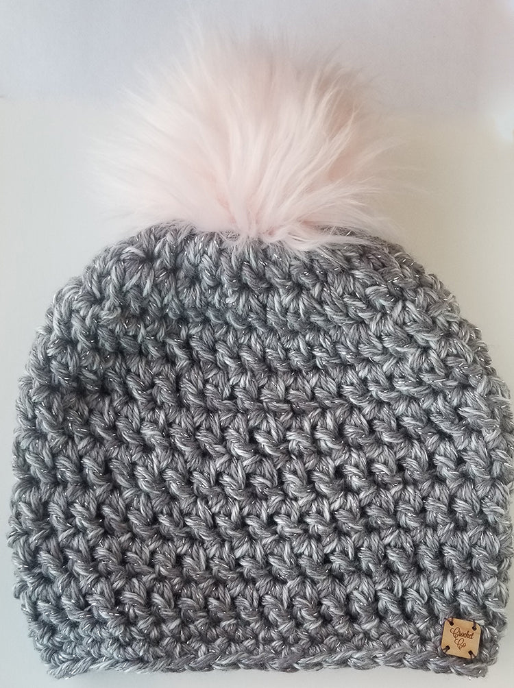 Sterling Faux Fur Pom Hat