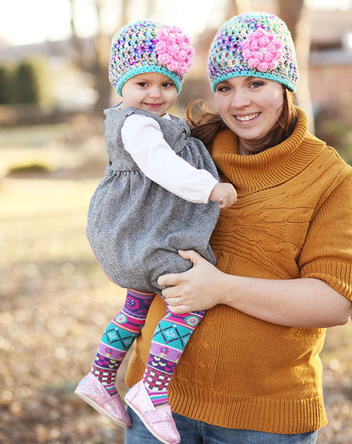 Mommy and Me Cupcake Hats
