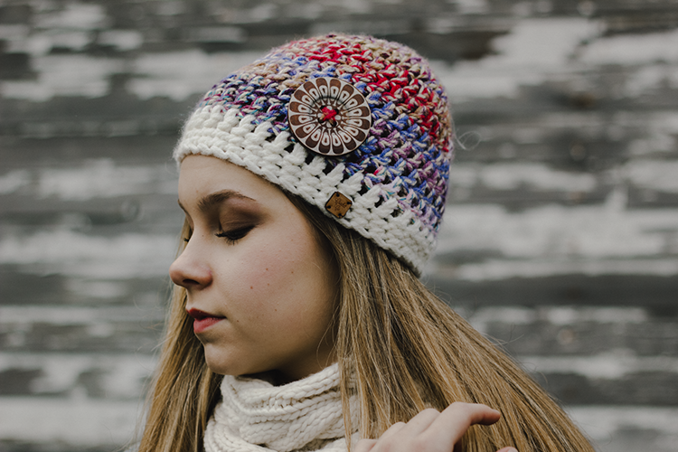 Ambrosia Hat with Button