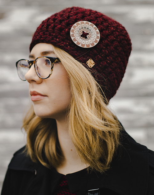 Pizzelle Hat