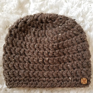 Simmering Cocoa Beanie Hat