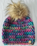 Treasure Trove Faux Fur Pom Hat