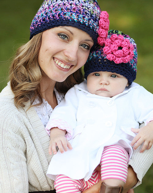 Mommy and Me Razzleberry Hats