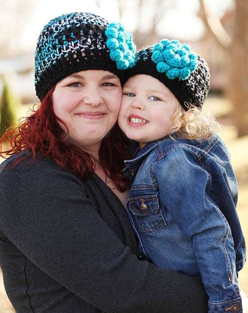 Mommy and Me Salt Water Taffy Hats