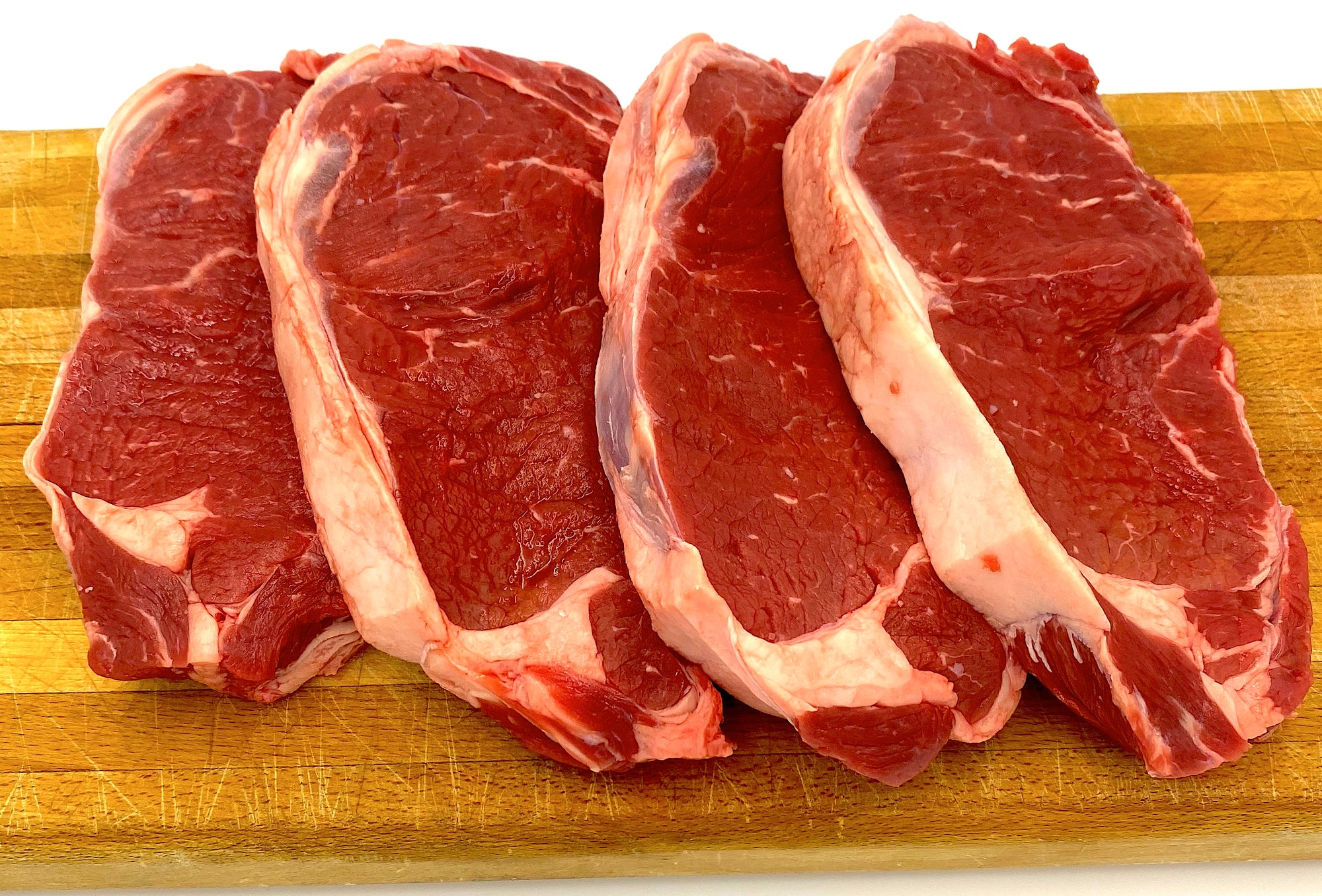 Family Pack Strip Steaks