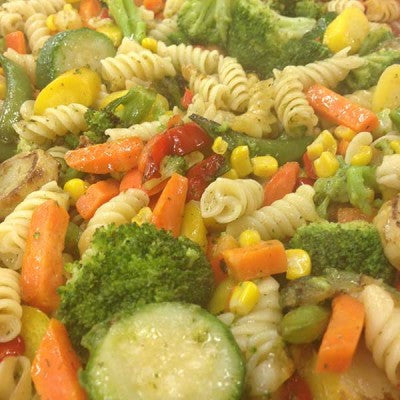 Garlic and Herb Pasta with Veggies