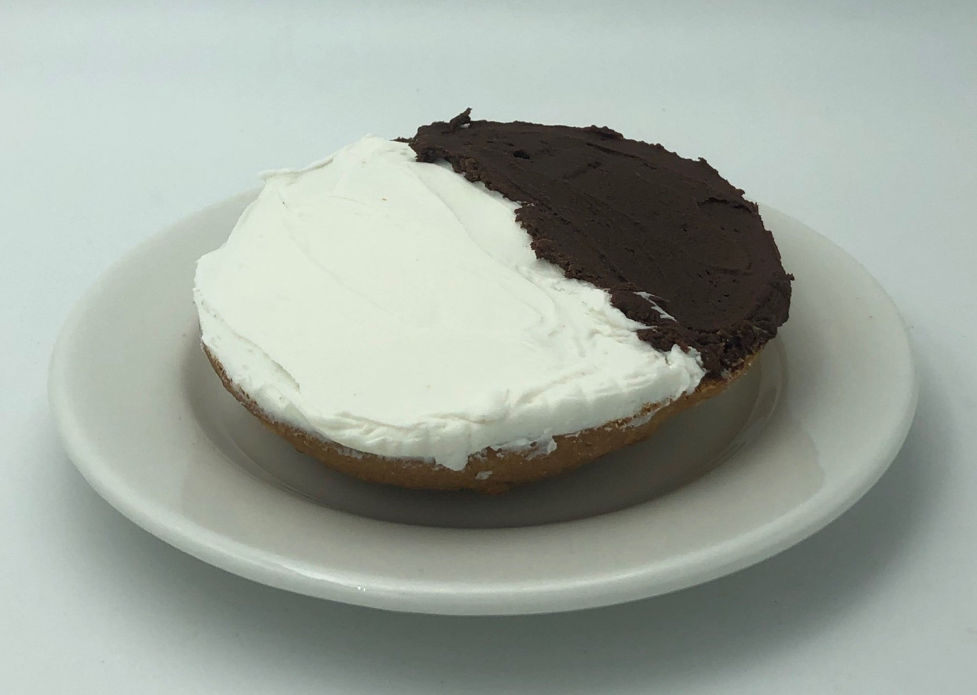 Half Moon or Black and White cookie