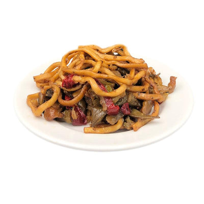 Lo mein and Vegetables