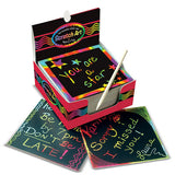 Scratch Art® Box of  Mini Notes