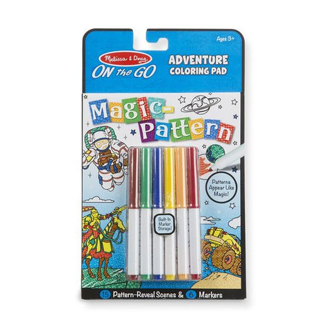 Magic Pattern Coloring Pad