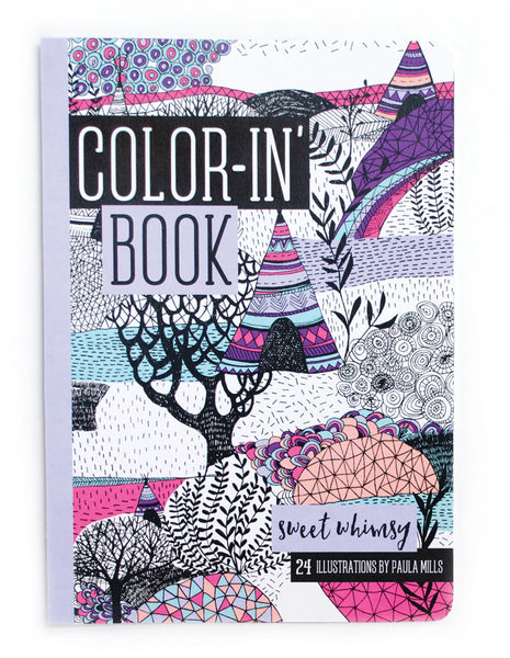 Travel Size Color-in' Book