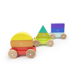 Magnetic Shape Train - Rainbow