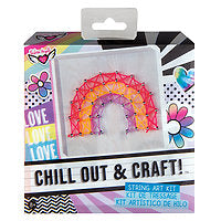 Chill Out & Craft Rainbow String Art