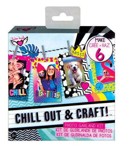 Chill Out & Craft Photo Garland