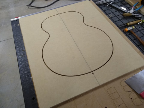 CNC: Acoustic Body Profile Mold Routing Templates