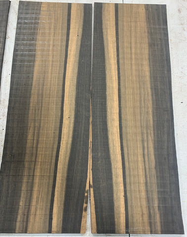 Black and White Ebony Bookmatched Drop Top
