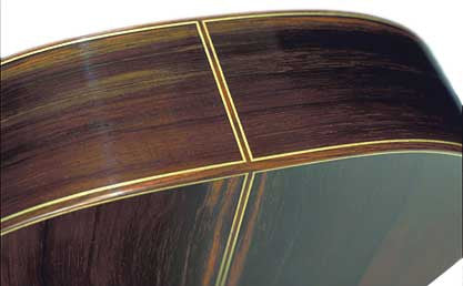 Indian Rosewood Binding