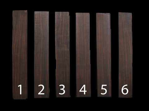 Macassarr Ebony Finger boards