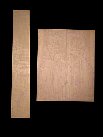 Bigleaf Figured maple