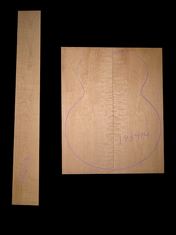 Bigleaf Curly maple