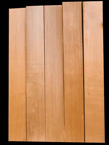 Tempered Maple Neck Blank – Guitar – Quartered - 1.5""