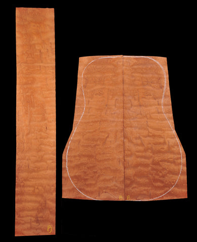"Quilted Mahogany from ""The Tree"""