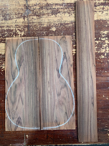 Brazilian Rosewood (Laminate Sides and Back) Irving Sloan Wood (Sadowsky Collection)