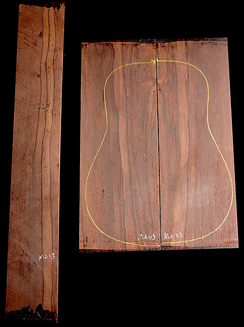 Madagascar Rosewood Back and Side Set - Weekly Special