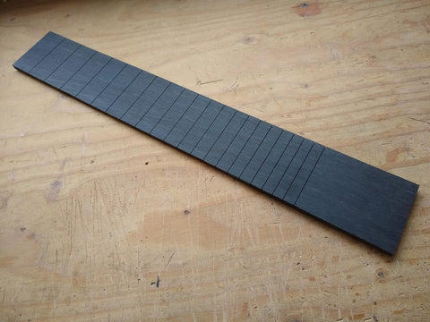 CNC: Custom Pre-Slotted Fingerboard Blanks (x4 Minimum Order)