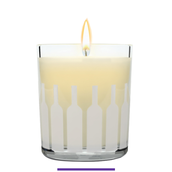 Cassis & French Oak Scented Candle - Olavie