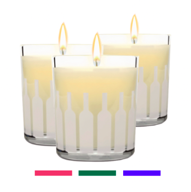 Holiday Candle Trio (set of three different 8.4 oz candles)
