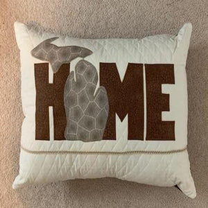 "STATE  ""HOME"" (Any State) PILLOW"