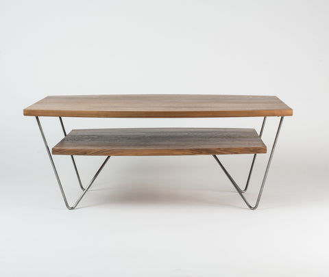Cooper Collection Walnut Coffee Table